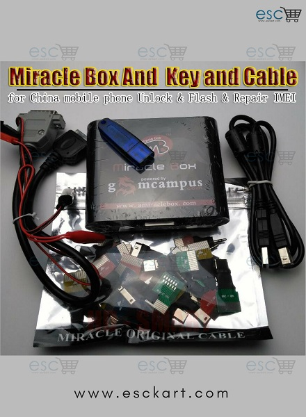 Esckart | Miracle Box Software Setup